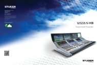 Studer Vista 5 M3 Brochure