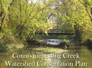 Connoquenessing Creek Watershed Conservation Plan