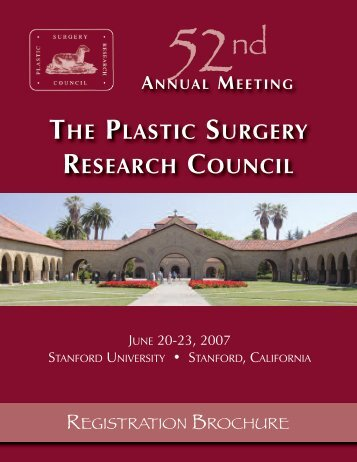 annual meeting the plastic surgery research council