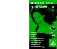 AKG-Full line - AVC Group