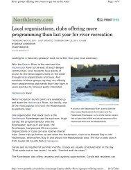 South Bergenite, May 2011 - Hackensack River Canoe & Kayak Club