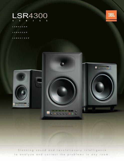 LSR4300 Brochure - JBL Professional