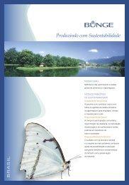 Folder de Sustentabilidade 2007 - Bunge