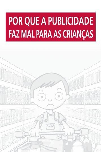 Por que A PuBliCidAde - REBRAE - Rede Brasileira de Alimentação ...