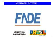 FNDE - Auditoria Interna