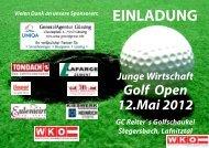 EINLADUNG Junge Wirtschaft Golf Open 12.Mai 2012 GC Reiter`s ...