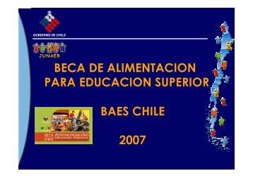 Beca BAES Chile Somente leitura - LA RAE