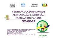 cecane-pr - REBRAE - Rede Brasileira de Alimentação e Nutrição ...