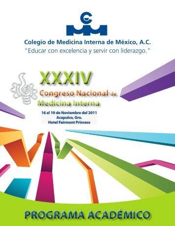 Descargar programa Congreso Nacional - Colegio de Medicina ...