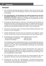 Bedingungen - insieme | Zürcher Oberland