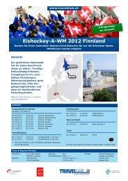 Eishockey-A-WM 2012 Finnland - Travelclub