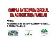 Compra antecipada especial da Agricultura Familiar