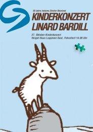 KINDERKONZERT LINARD BARDILL - insieme | Zürcher Oberland