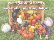 Produção de Sementes agroecológicas de hortaliças ... - CPRA