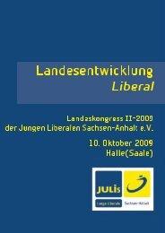 Der Landeskongress möge beschließen: - Junge Liberale Sachsen ...