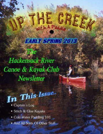 3 MB version - Hackensack River Canoe & Kayak Club