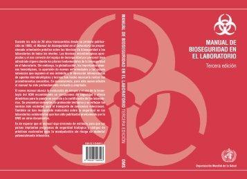 manual de bioseguridad en el laboratorio - Facultad de Ciencias ...
