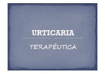 urticaria. tratamiento