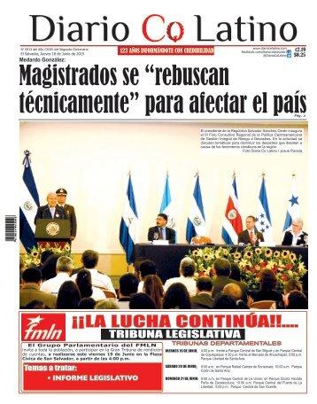 Edición 18 de Junio de 2015