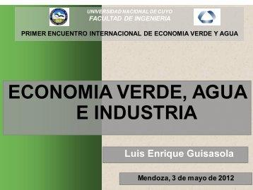 Eco verde agua e industria - Universidad Nacional de Cuyo