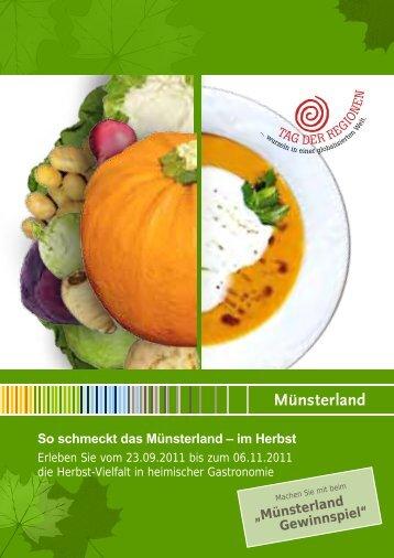 Rezepte aus dem - So schmeckt das  Münsterland
