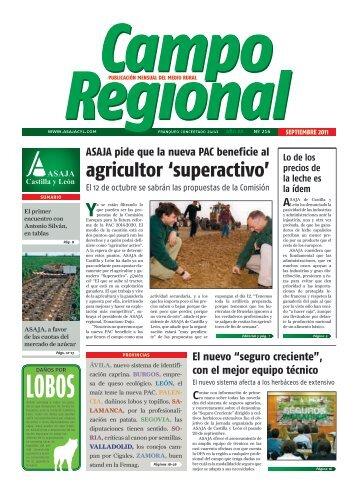 agricultor 'superactivo' - ASAJA Castilla y León