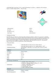 AVM FRITZ!Box Fon WLAN 7170 V.2 VoIP-Telefonanlage 3x a/b ...