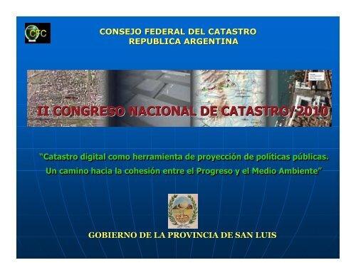 DIRECCION GENERAL DE CATASTRO CORDOBA