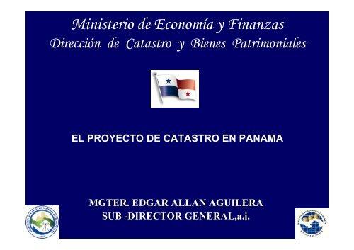 El Proyecto de Catastro en Panamá