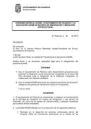 Convenio ASOMI - Ayuntamiento de Palencia