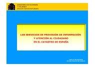 Los Servicios de Provisión de Información y Atención al Ciudadano ...