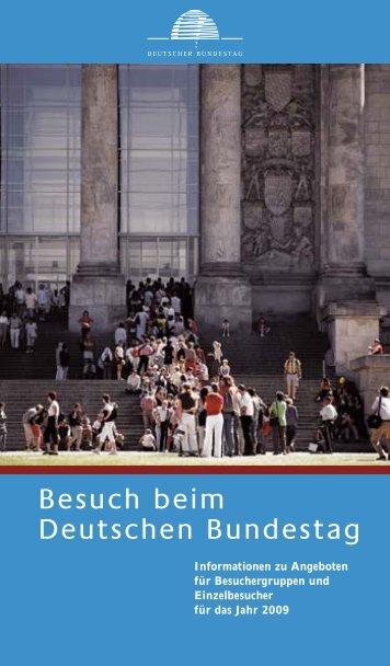 Besuch beim Deutschen Bundestag - Alexander Dobrindt