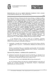 Pleno11) de 19 de julio de 2012 - Ayuntamiento de Palencia