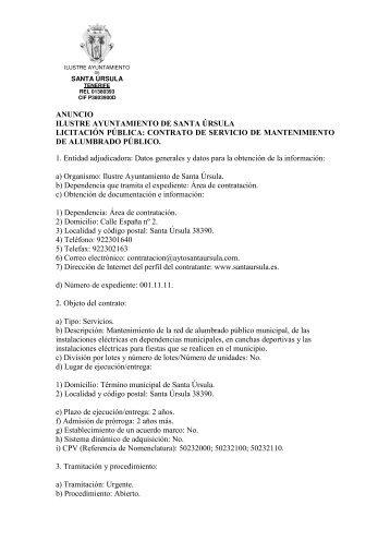 146 - Ayuntamiento de Santa Úrsula
