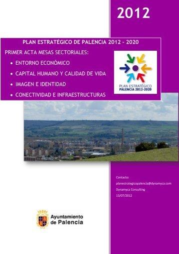 plan estratégico de palencia 2012 - Ayuntamiento de Palencia