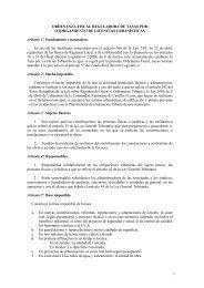Licencias Urbanísticas - Ayuntamiento de Palencia