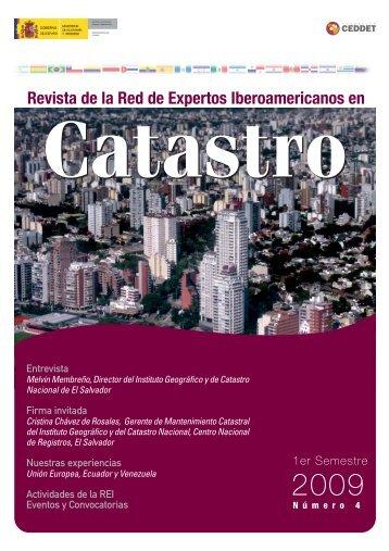 Nº 4 Revista Digital de la REI en Catastro - CPCI