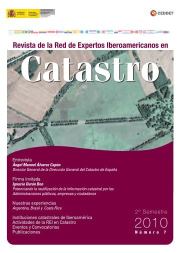 Nº 7 Revista Digital de la REI en Catastro