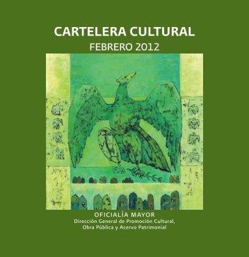 CARTELERA CULTURAL - Secretaría de Hacienda y Crédito Público