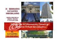 Difusión de la Información Catastral: La Oficina Virtual del Catastro