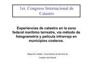 Experiencias de catastro en la zona federal marítimo terrestre, vía ...