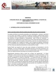 MEMORIAS III REUNIÓN ANUAL DEL COMITÉ ... - CPCI