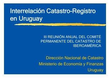 Interrelación Catastro-Registro en Uruguay