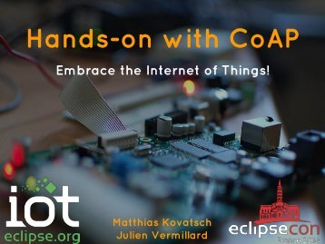 Hands-on with CoAP