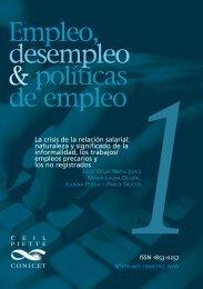 naturaleza y significado de la informalidad, los ... - Políticas Públicas