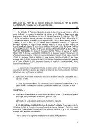 Pleno de 18 de Junio de 2009 - Ayuntamiento de Palencia