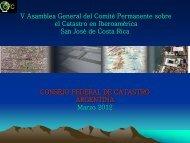 Consejo Federal de Catastro en Argentina