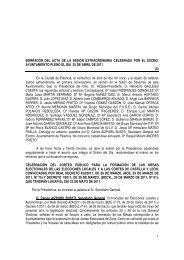 Pleno de 25 de Abril de 2011 - Ayuntamiento de Palencia
