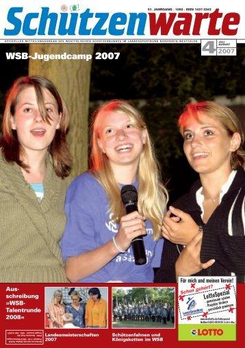 WSB-Jugendcamp 2007 - Schützenwarte - WSB