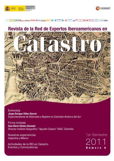 Nº 8 Revista REI en Catastro - CPCI